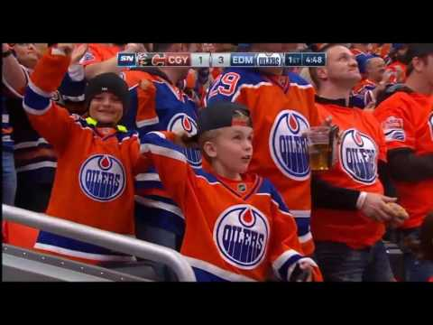 EDMONTON OILERS vs. CALGARY FLAMES (7-4) Oct 12