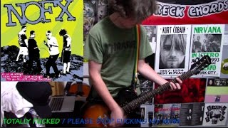 NOFX - Totally Fucked / Please Stop Fucking My Mom (Guitar Cover)