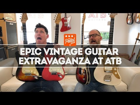 Utterly Epic Vintage Guitar Extravaganza At ATB In Cheltenham – That Pedal Show