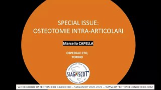 M. CAPELLA -SPECIAL ISSUE OSTEOTOMIE ARTICOLARI (chiba's osteotomies) -07.06.20