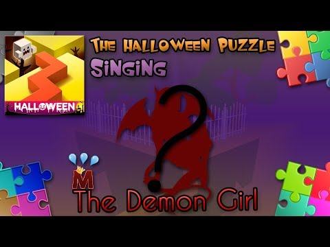 Dancing Line Singing - The Demon Girl (The Halloween Puzzle)