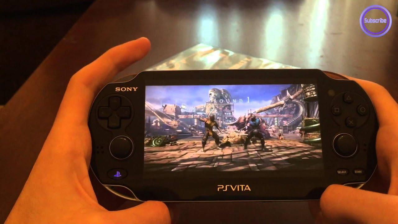 PsVita Remote Play : Mortal Kombat X