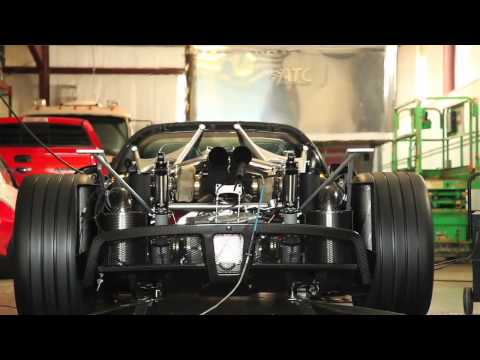 Exclusive: Hennessey Venom GT Spyder #001 Shoots Fire on Dyno!