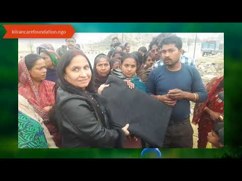 Blankets For Underprivileged People of India By Kiiran Care Foundation