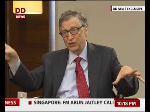 India can achieve higher economic growth through higher investment in health & education: Bill Gates