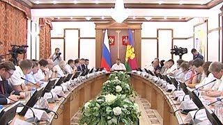 Заседание общественного градостроительного совета при губернаторе Кубани прошло в Краснодаре: итоги