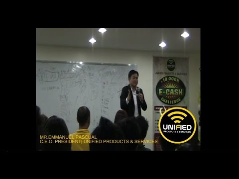 UNIFIED PRODUCTS AND SERVICES | President & CEO Manny Pascual sharing Business of UPS ~ MUST WATCH!