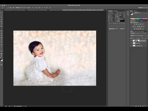 How to use a digital backdrop - Holiday Backdrops
