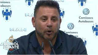 ASÍ LO DIJO EL TURCO 'Estamos con la suerte del campeón'. Rayados venció al América | Futbol Picante