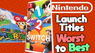 Ranking Every Nintendo Launch Title