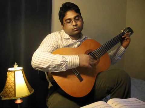 Classical Guitar, Prelude-1 (Aaron Shearer)