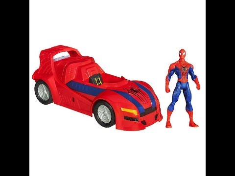 Voitures jouets spiderman dessin anim pour les enfants - Dessin anime spidermann ...