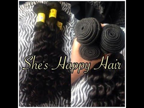 Shes happy hair brazilian deep wave initial review youtube shes happy hair brazilian deep wave initial review pmusecretfo Choice Image