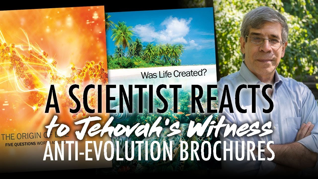 My discussion on the Jehovah's Witnesses and evolution « Why