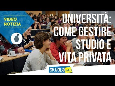 Università: 8 consigli per conciliare studio e vita sociale