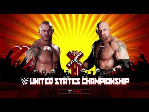 WWE 2k18 United States Championship Randy Orton vs. Goldberg