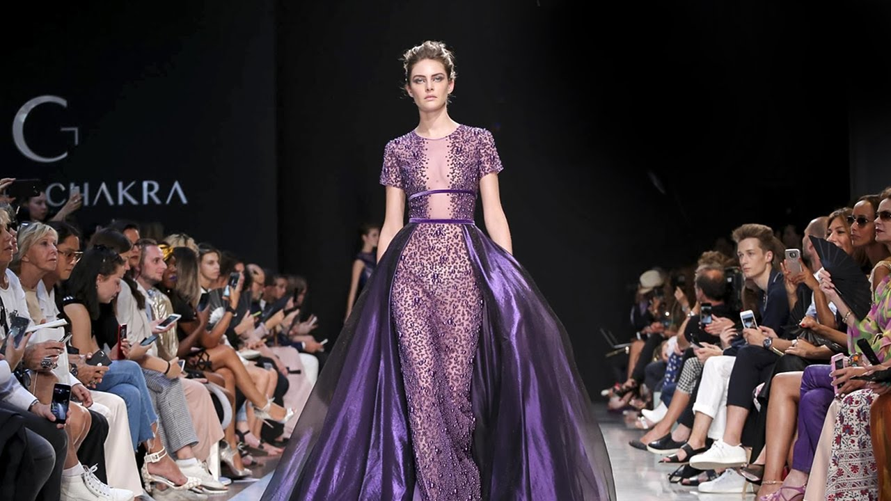 Georges chakra haute couture fall winter 2017 2018 full for Couture fashion designers