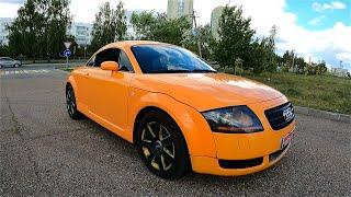 2003 Audi TT coupe.  Легендарное компактное купе.  ТЕСТ-Драйв.