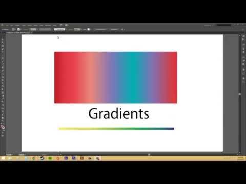 Adobe Illustrator CS6 for Beginners - Tutorial 49 - Gradients