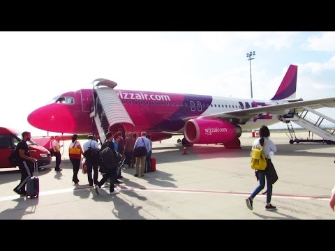 TRIP REPORT | WIZZAIR A320 | First Flight Budapest to Bucharest | Full Experience! [Full HD]