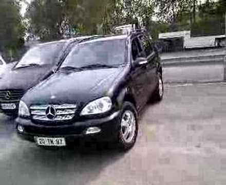 mercedes ml 270 cdi youtube. Black Bedroom Furniture Sets. Home Design Ideas