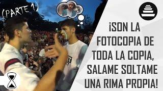 RIMAS HISTORICAS DEL QUINTO ESCALON! (PARTE 1) Batallas de plaza thumbnail