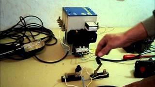 видео Пускатель магнитный ПМЛ: устройство, характеристики и подключение