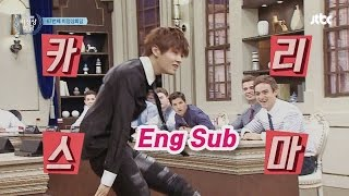 [Eng Sub] Fantastic dance by Yuta- Hyun Moo won't be able to mimick this time.