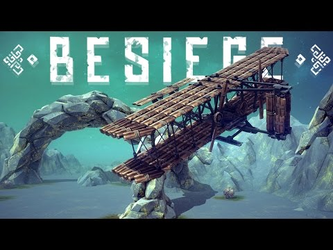 Besiege Best Creations - Wright Brothers Airplane, Rock Crawlers & More- Besiege Gameplay Highlights
