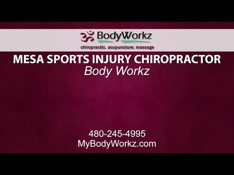 Mesa Sports Injury Chiropractor | BodyWorkz