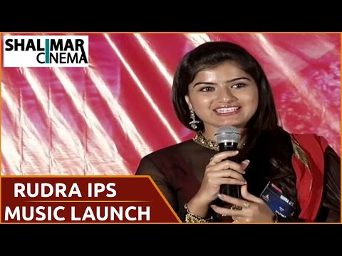 Rudra IPS Movie Audio Launch || Rajasekhar, Keerthana Podhwal || Shalimarcinema