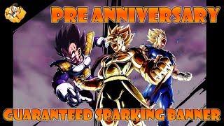 Pre Anniversary Guaranteed Sparking Banner Dragon Ball Legends DB DBL DBZ