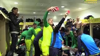 FC Nantes - AS Monaco : la joie du vestaire