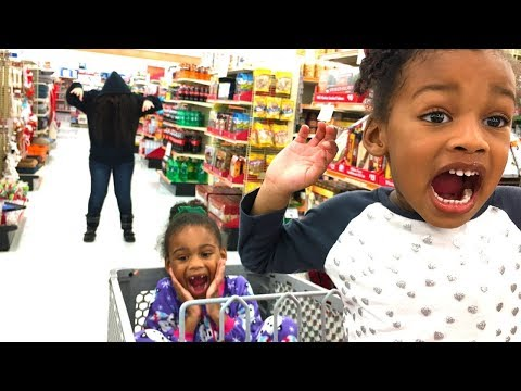 Crazy Funny Bad Baby Shopping in Toy Store