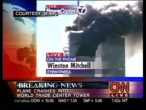 CNN Live - Second impact sur les tours du World Trade Center