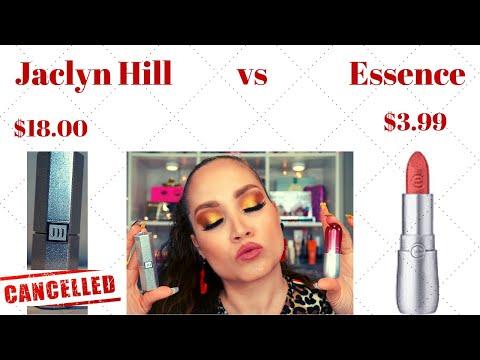NO LO VAN A CREER!!! Consegui la replica de Jaclyn Hill Cosmetics (essence velvet matte) thumbnail