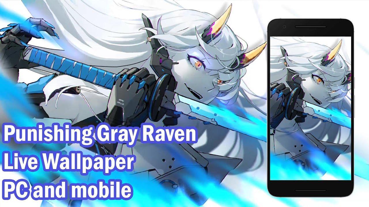 Punishing Gray Raven - Crimson Abyss [ Live Wallpaper Engine ] PC + Mobile ||Making Animation