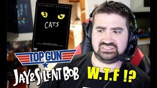 Cats Angry Trailer Reaction! + [Top Gun 2 & Jay and Silent Bob Reboot]