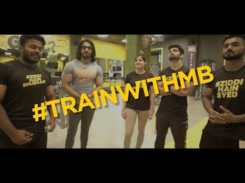 #TrainWithMB - The Journey of the 4 champions !!