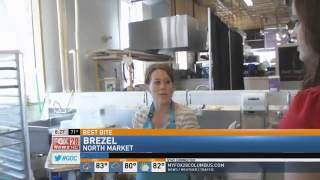 Best Bite In C-bus: Brezel Recipe - Roasted Lemon Asparagus Bianco Pizza