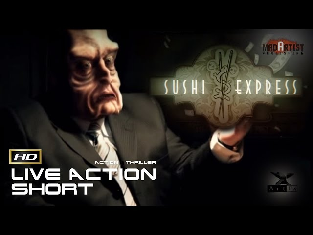 Sushi Express | Mafia crime boss goes to the cops (3D Animation by ArtFx)