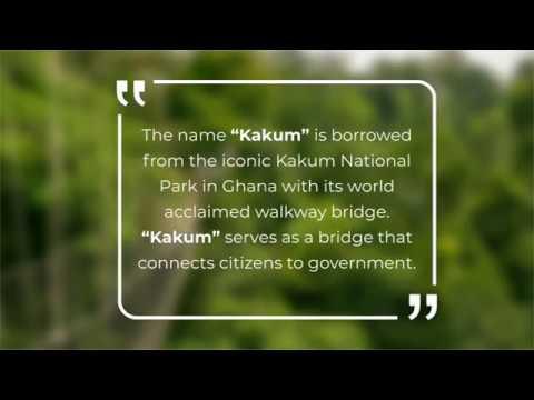 Penplusbytes' Citizens' App - Kakum