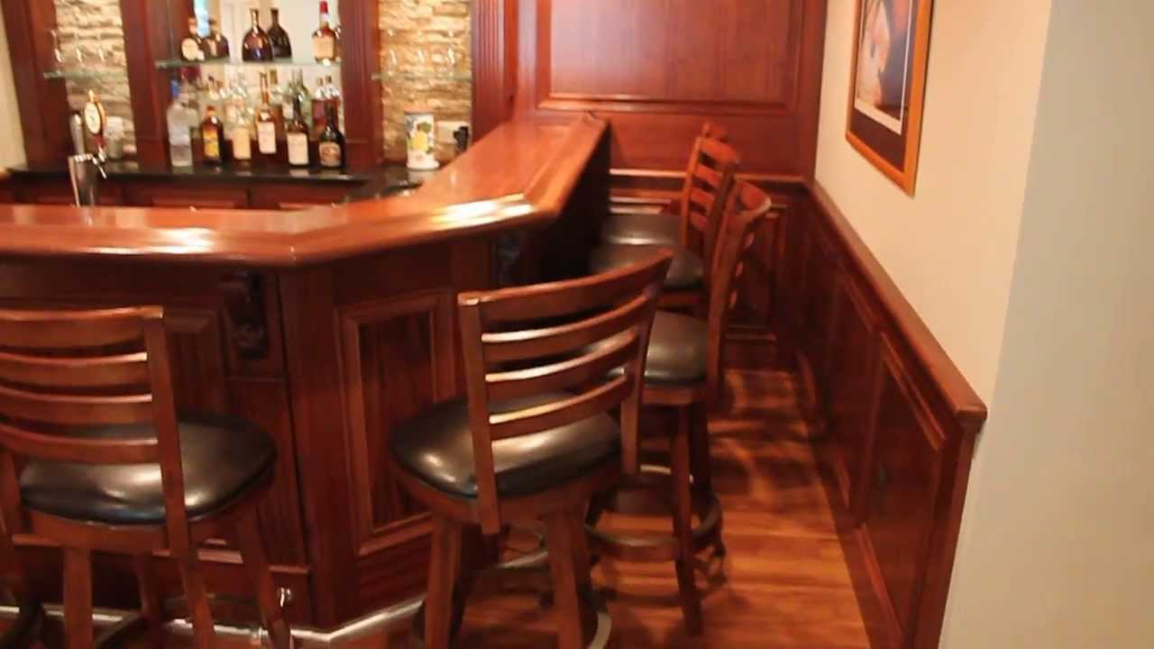 Bar install with cabinets and soundtrack youtube - The Drownstairs Pub Another Blue Moon Custom Bar