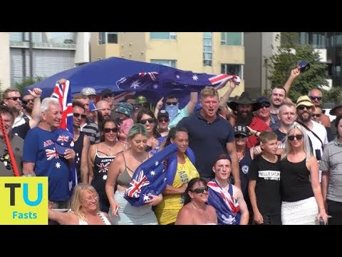 Australia Day 2018 At The True Blue Crew Beach Party