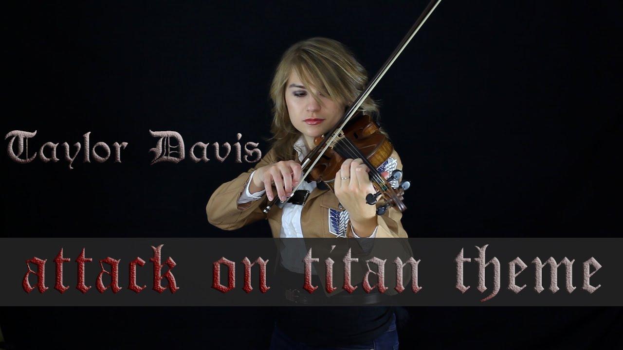 Attack on Titan Theme (Guren no Yumiya) - Violin Cover - Taylor Davis - YouTube