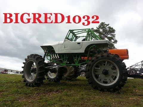 2000 horsepower farm jeep destroys WGMP