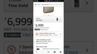 Moto g5 6999rs only | amazon great indian sale offer