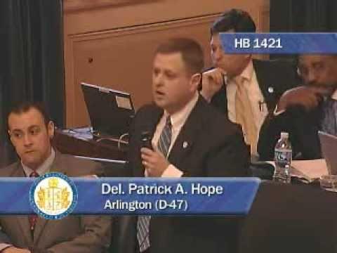 Delegate Hope Defends Arlington County's Immigration Policies