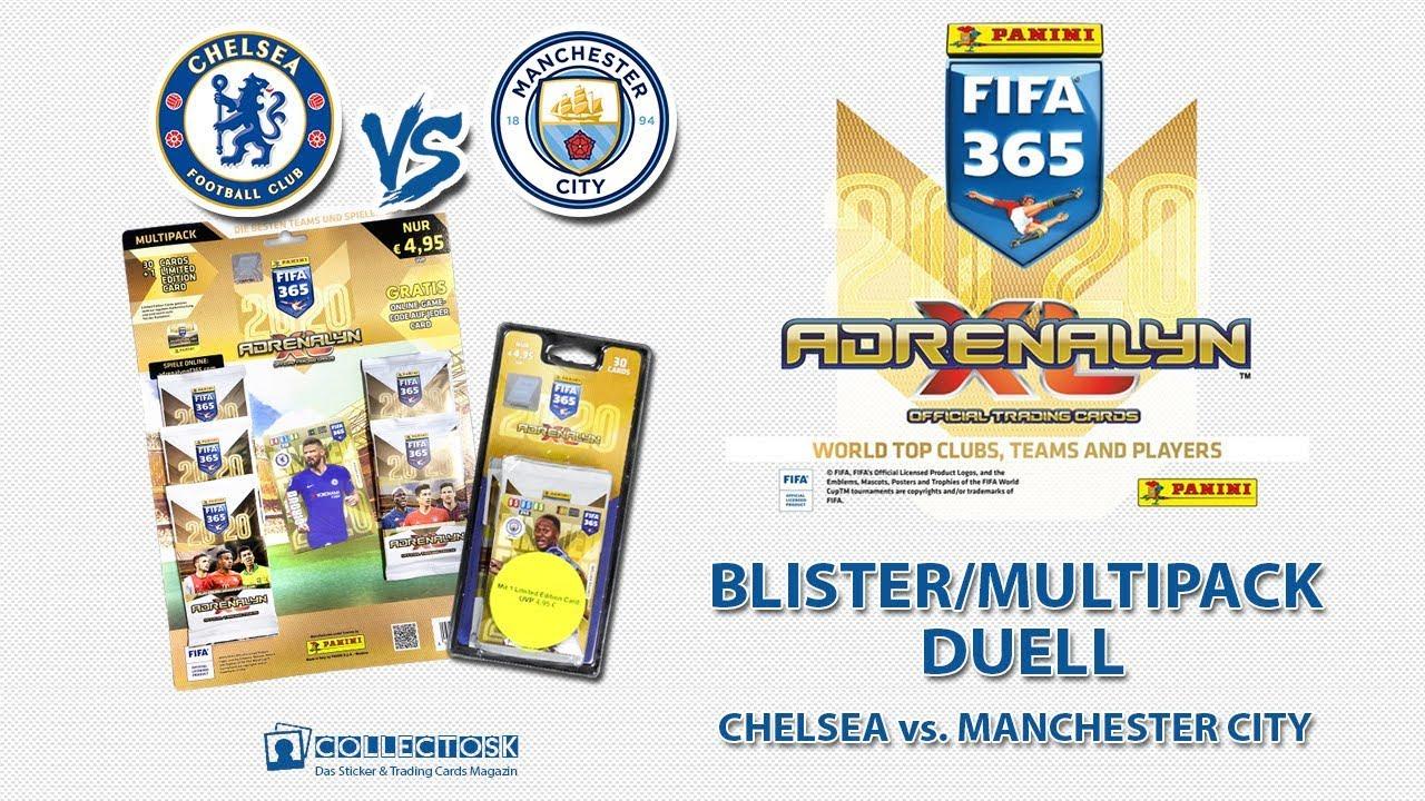 Manchester City FC Living Football Panini Fifa 365 2020 Sticker 58