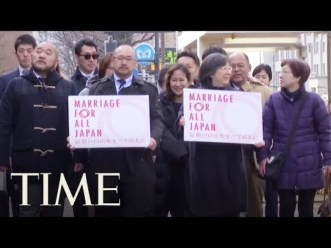Gay Couples In Japan Filed Valentine's Day Lawsuits Demanding Marriage Equality | TIME